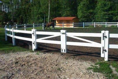 Ogrodzenia farmerskie do wybiegów koni. post thumbnail image
